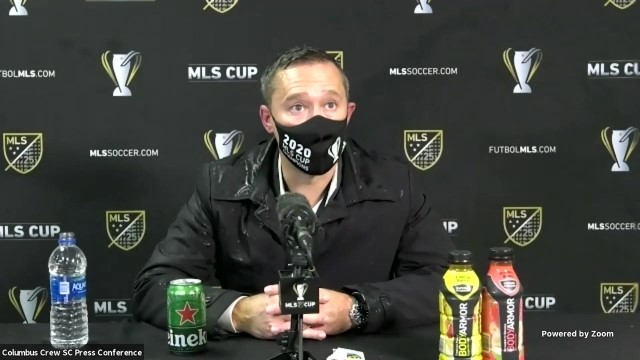 USA: 'We fought' — Columbus Crew coach comments on MLS Cup win