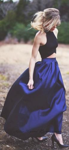Нарядная юбка в пол