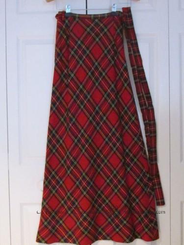 классическая длинная юбка