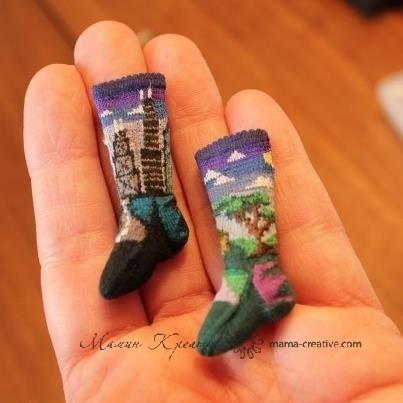 Миниатюрные носки