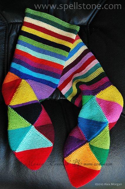 Носки из треугольников