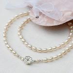 Ожерелье ручной работы из жемчуга, в красивой упаковке — в подарок