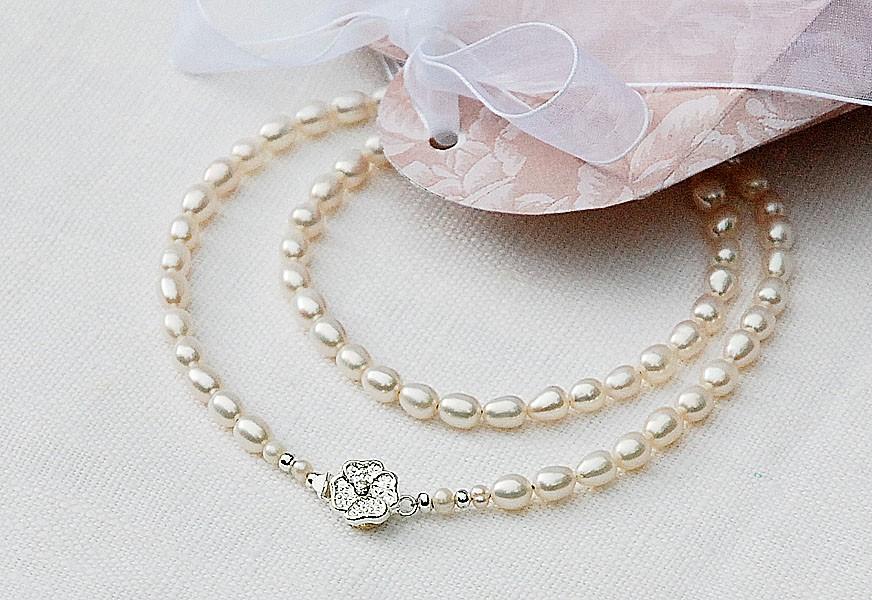 Ожерелье, жемчуг