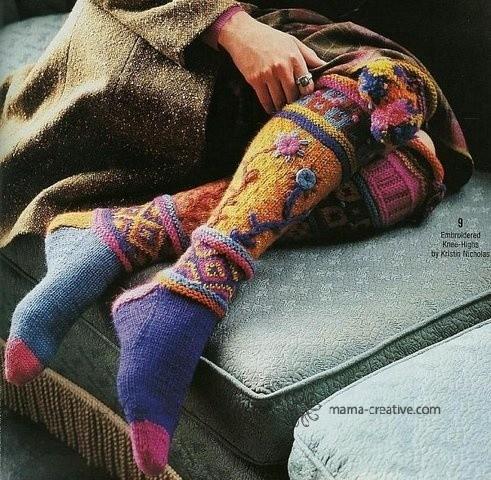 Идеи вязания носков