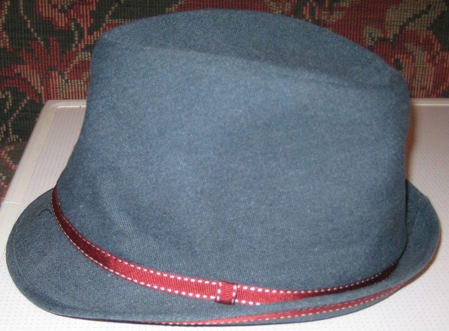 Сшить шляпу мужскую