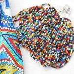 Как сделать простое украшение из бисера своими руками