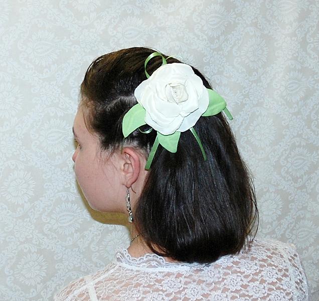 Заколки и резинки для волос своими руками