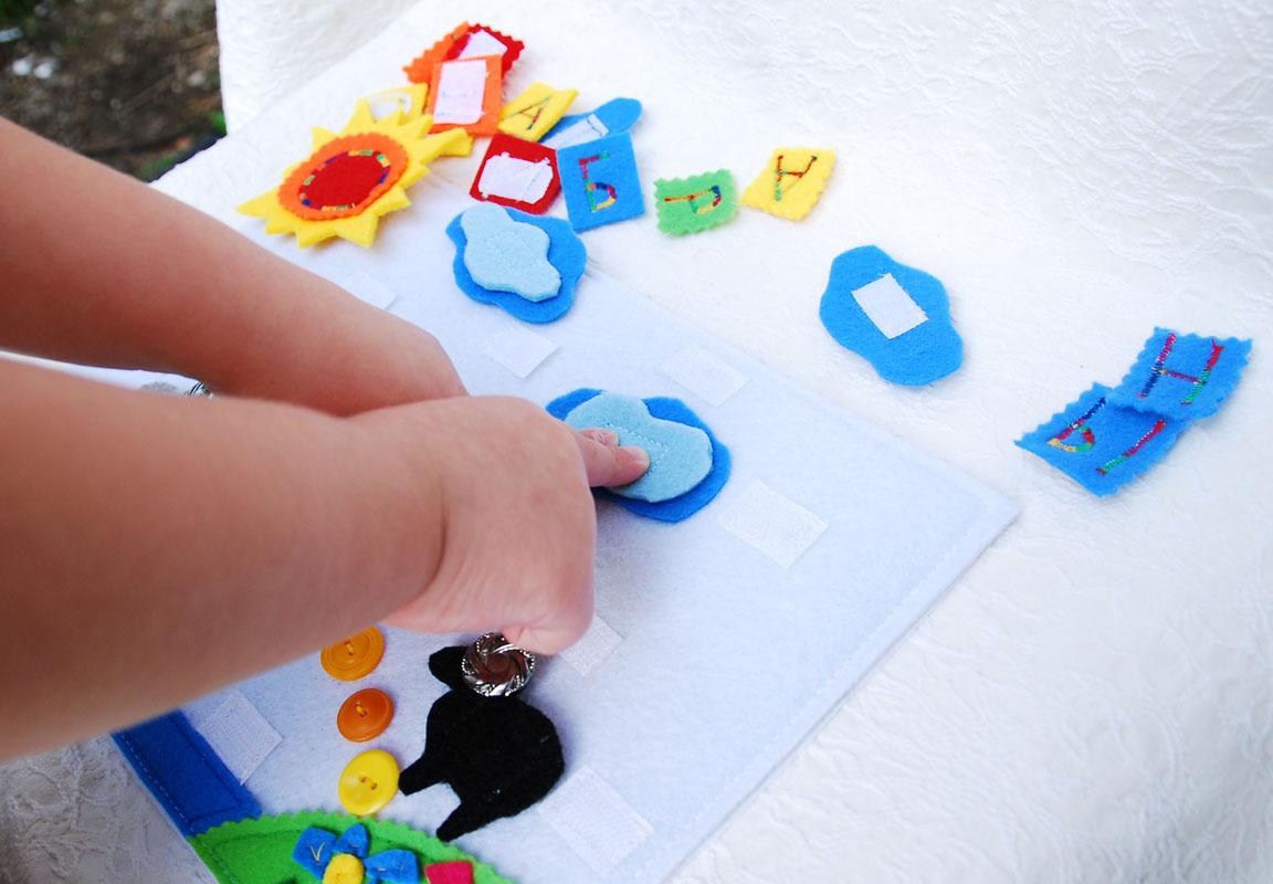 Развивающие поделки для малышей