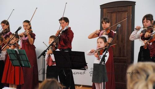 дети и скрипка