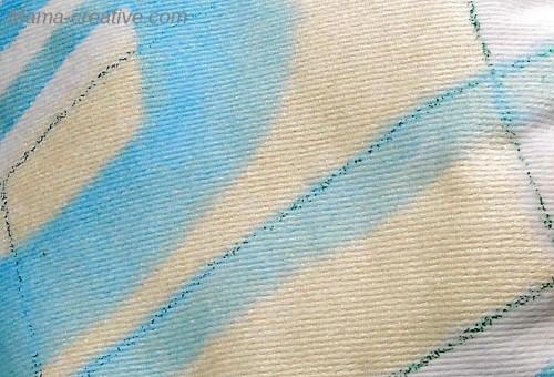 жемчужный цвет, джинсовая ткань