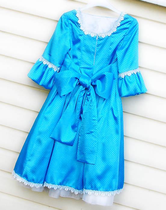 задняя часть платья