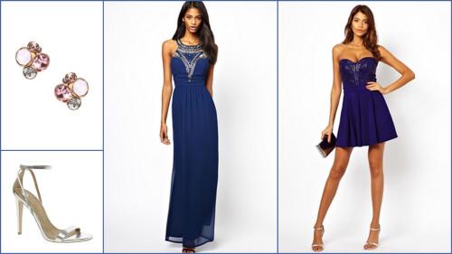 Синие платья 2014