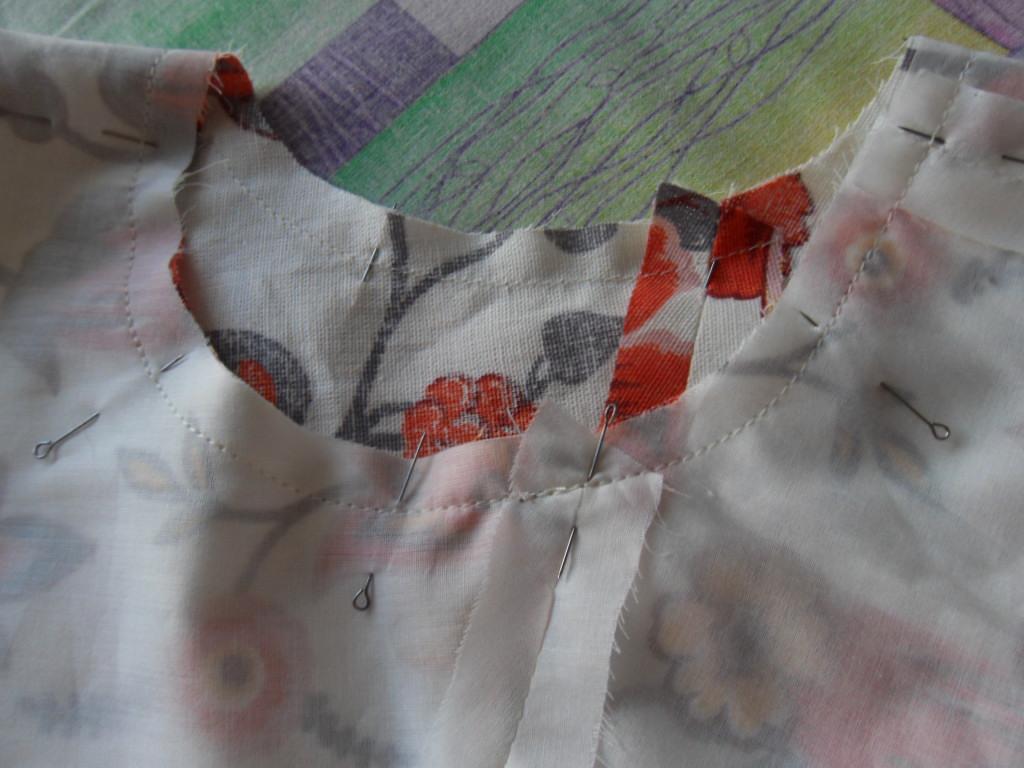 Как шить подкладку для платья