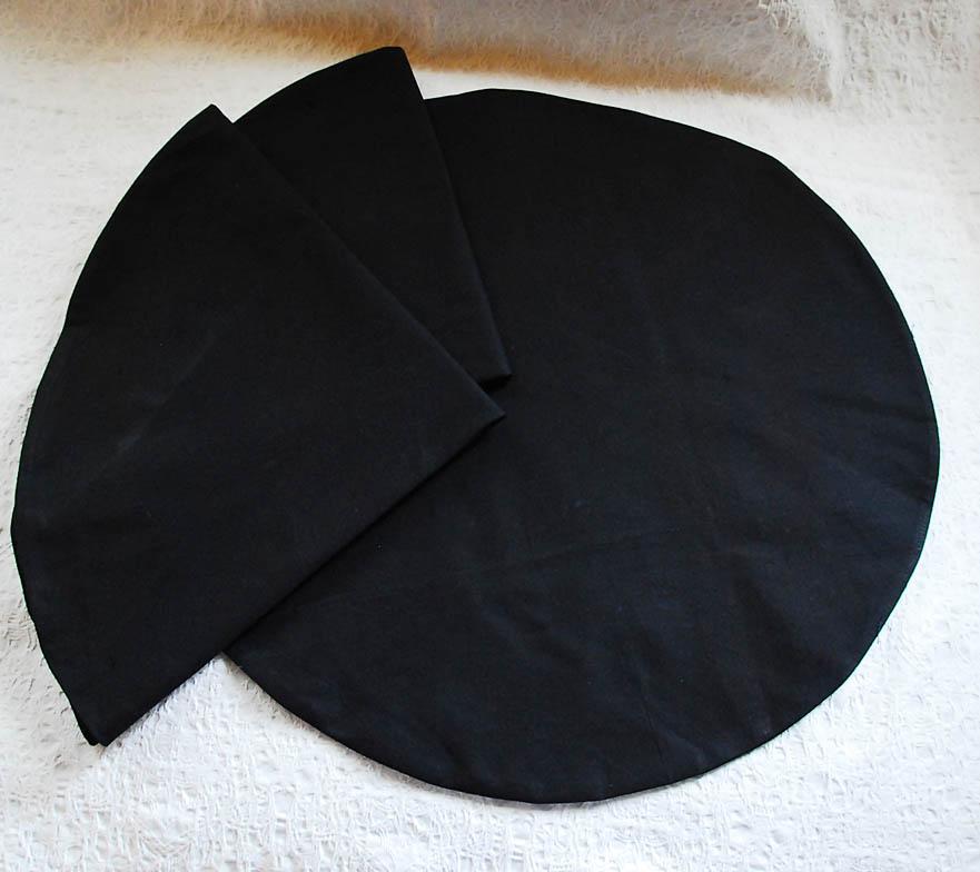 наволочка черная