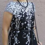 Длинное летнее платье из хлопка