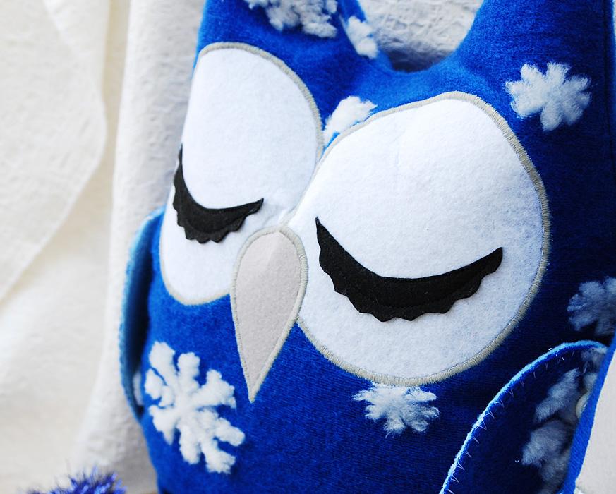 Подушка-сова сплюшка