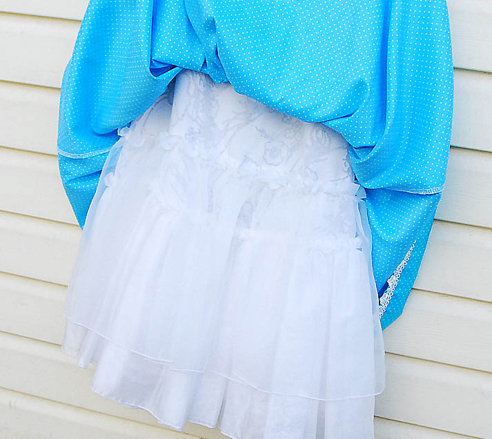 подъюбник платья