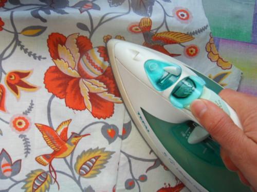 этап шитья платья