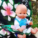 Детская накидка на стул, или облегчим маме жизнь