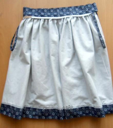 юбка с подкладкой