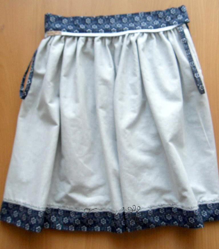 Как сшить юбку с подкладом своими руками