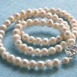 Собираем ожерелье из жемчуга