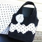 Черно-белая сумка №1