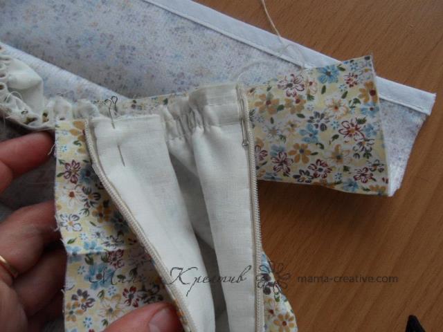 юбка с подкладкой мастер класс