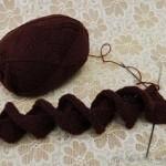 Ruffles Scarf SAL — оригинальный шарф спицами и Осенние зарисовки