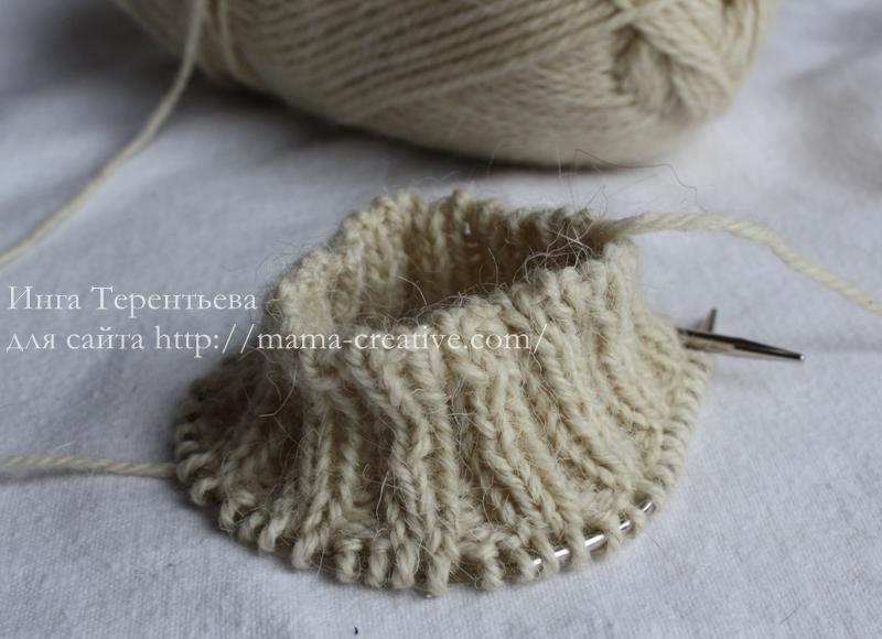 Декоративный элемент рукавицы