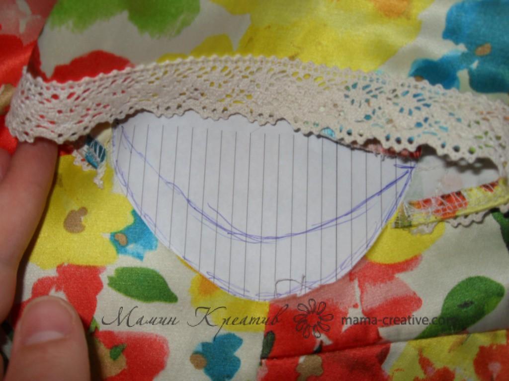 рукава крылышки у платья