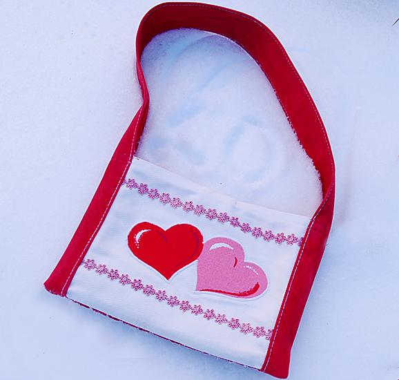 Сумка для девочки из хлопковой ткани