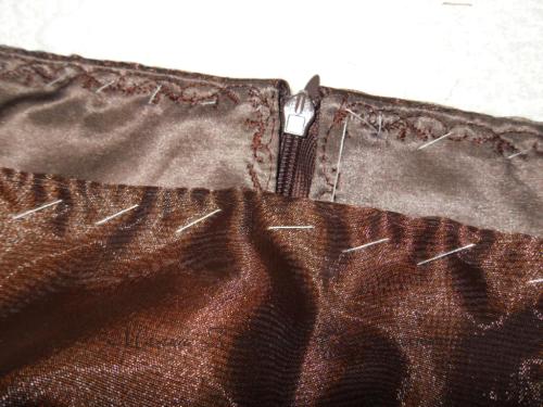 шьем платье на подкладе