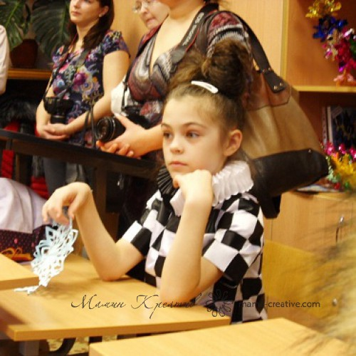 Как сшить костюм шахматной королевы