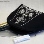Косметички с вышивкой