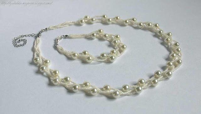 ожерелье из жемчуга на заказ