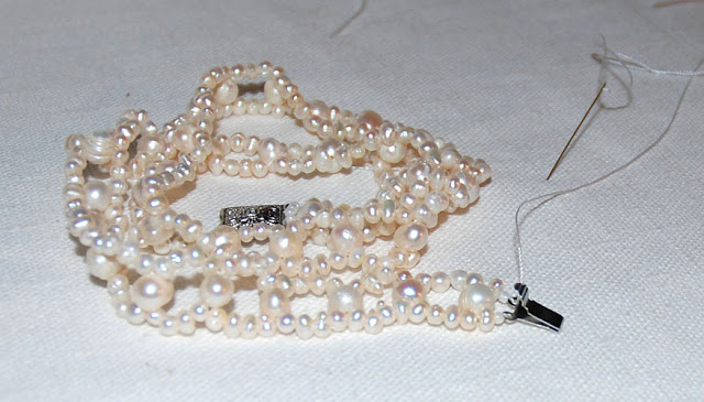 мастер класс ожерелье из бисера