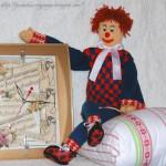 Любимая вязаная игрушка — клоун своими руками