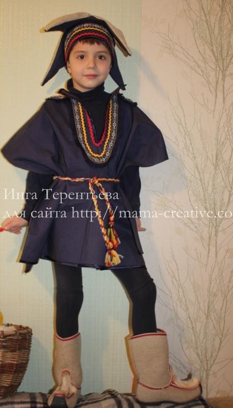 Новогодний костюм Гномик или Лопаренок