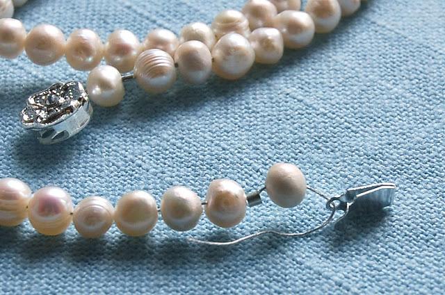 ожерелье из натурального жемчуга цена