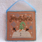 Вышивка крестом, календарь от Bent Creek, месяц январь