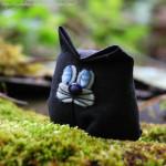 Игрушки из лоскутков — японские куколки Sarubobo и текстильный котик