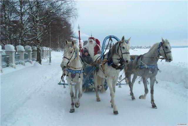 Исконно русские традиции нового года