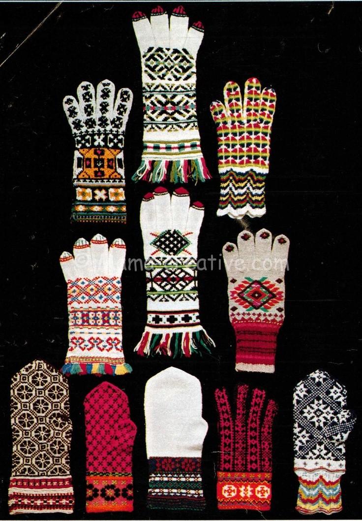 Ажурная манжета рукавицы