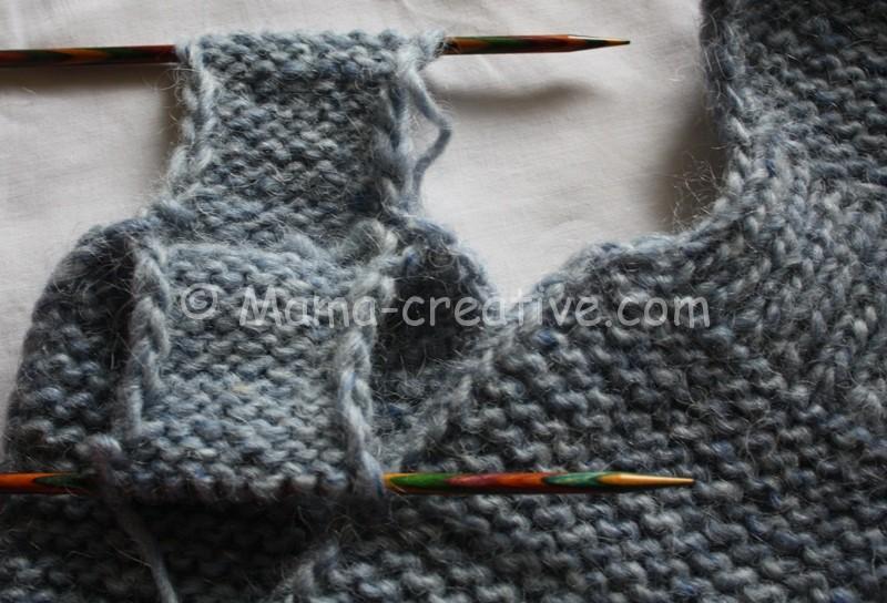 Мастер-класс вязание шарфа с петлей