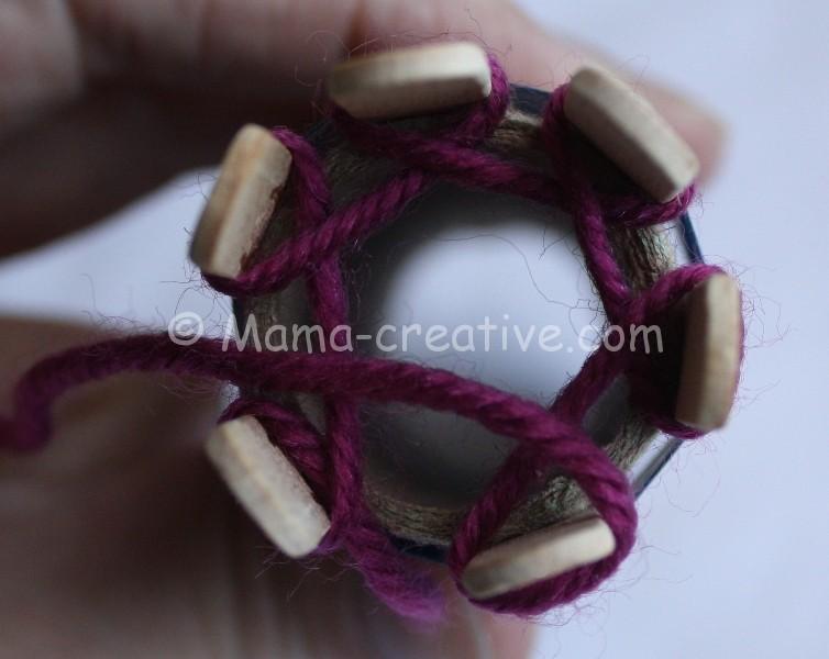 Машинка для плетения шнуров