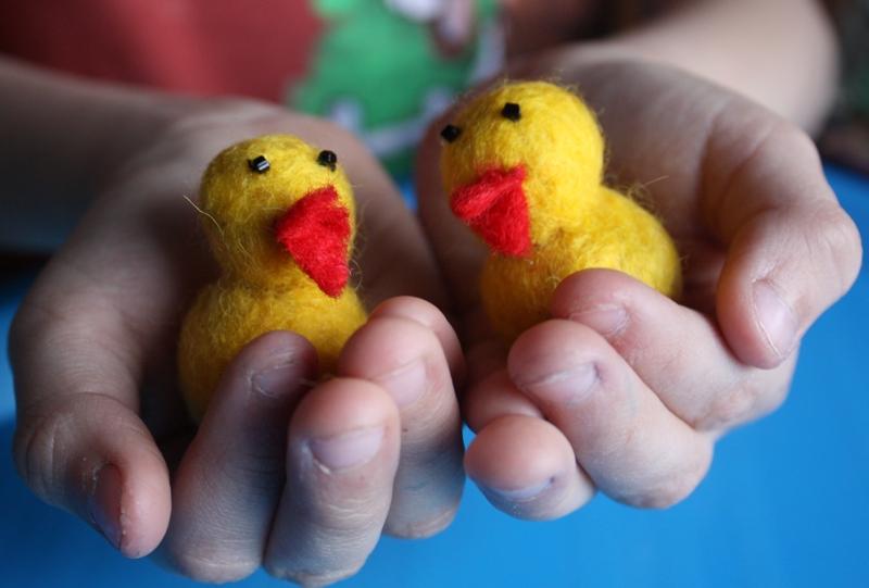 Игрушки с детьми своими руками