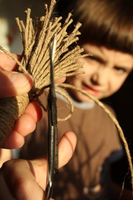 игрушки из верёвки