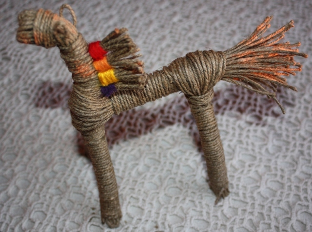 Игрушка конь сделать с ребёнком