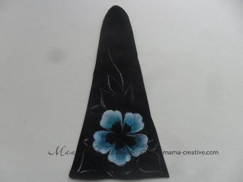 роспись цветка
